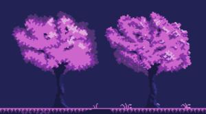Pariah tree art style