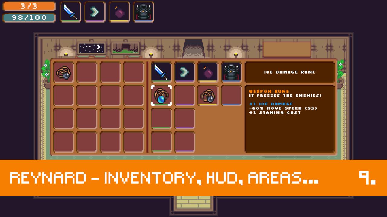Reynard - Inventory