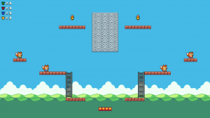 Fighting Platformer - Skyroad
