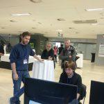 @Danpelgar exploiting stuff. Slovenian Games Conference Reynard